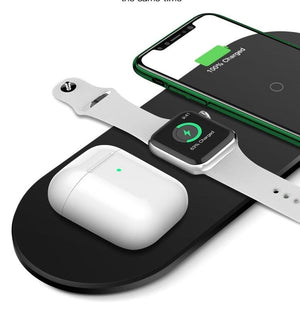 EDGE™ 3-in-1 Wireless Charging Pad