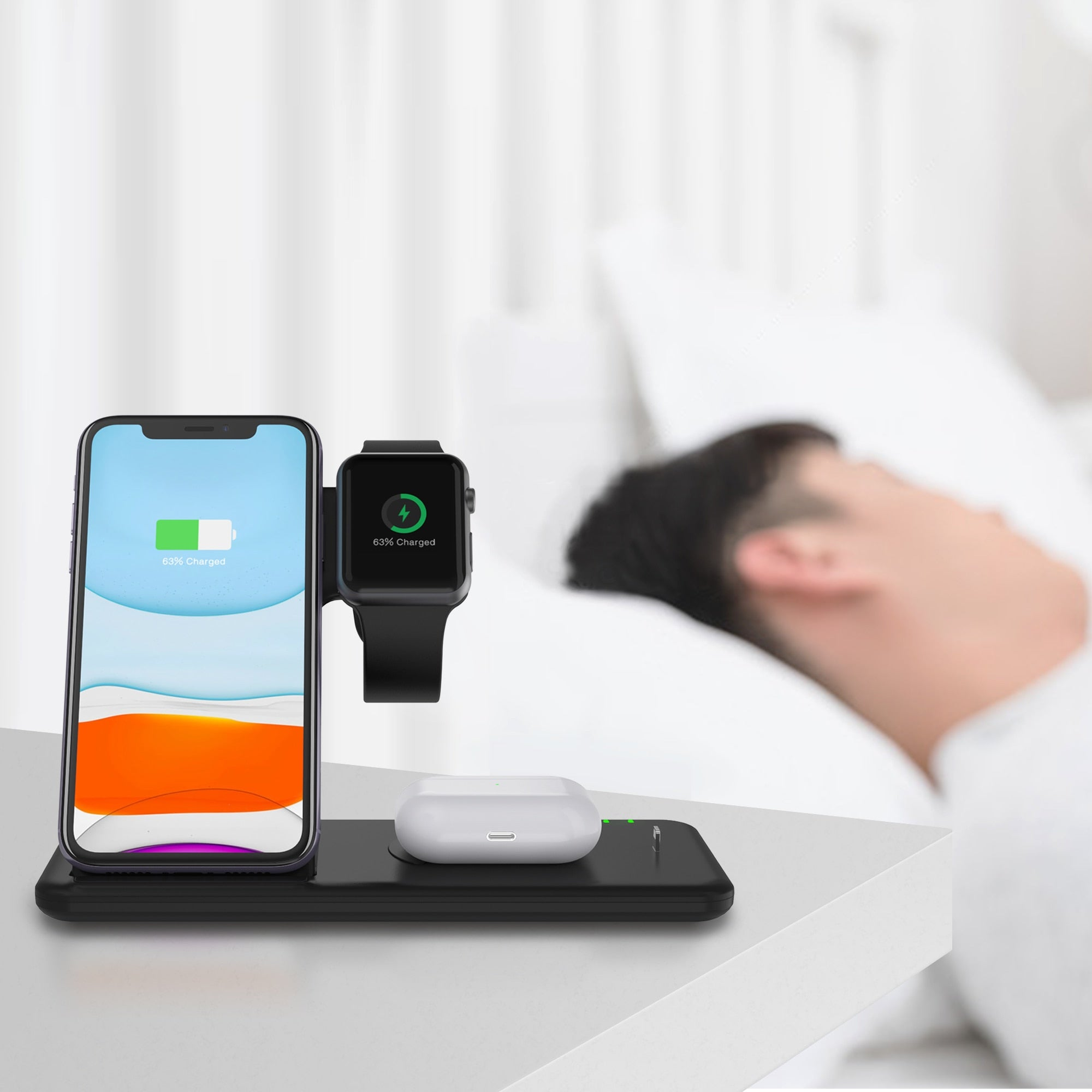 EDGE™ 4 in 1 Wireless Charging Station