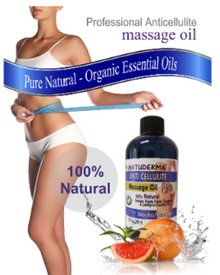 Anti-Cellulite Natural Massage Oil (Aceite Anticelulitico) - Natuderma