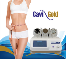 CAVIGOLD,  5 in 1 Cavitation, Body and Facial RF, Biolifting and Vacuum.