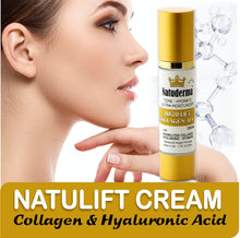 "Natuderma's ""NATULIFT CREAM""  Firming Antiaging, COLLAGEN + HYALURONIC."