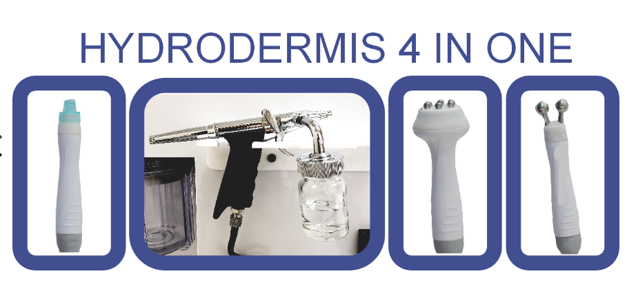 "HYDRODERMIS 4 in 1 ""Hydrodermabrasion"" ""Radio Frecuencia"" & more"