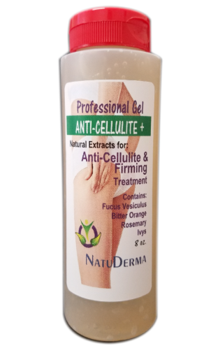 NATUDERMA ANTI-CELLULITE GEL, for Cavitation & RF Treatments.