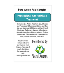 NATUDERMA Facial Anti-wrinkle Gel for RF, US and Microcurrent