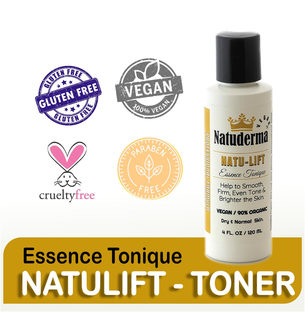"Natuderma ""NATULIFT TONER"" Essence Tonique, 4oz."