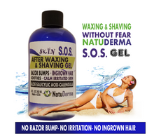 SOS After Waxing & Shaving Gel (Ingrown Hair-Razor Bumps)