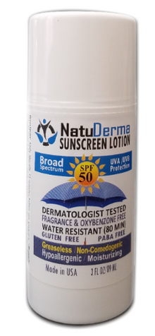 Sunscreen Protector Lotion SPF 50, by Natuderma