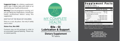 Bile - GI Lubrication & Support