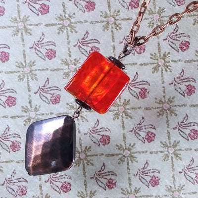 Red Copper Necklace