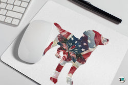 American Dog - Mouse Pad