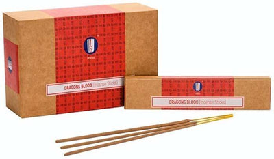 Srinivas Dragons Blood Incense - 15 Gram Pack (12 Packs Per Box)
