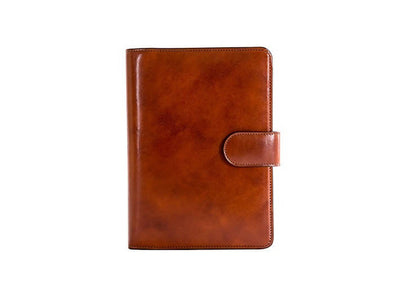 "Bosca Old Leather 927 Italian Leather Snap 8""x 6"" Planner"
