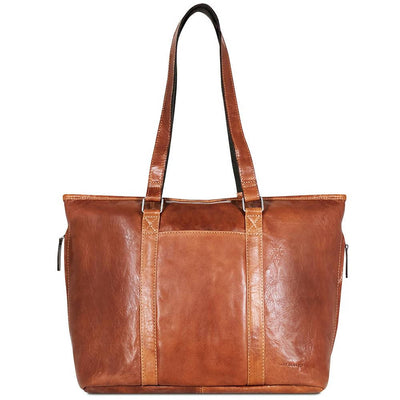 Jack Georges Voyager 7803 Buffalo Hide Shopper Tote