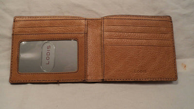 Lodis 1314ZE Tan Leather ID Billfold