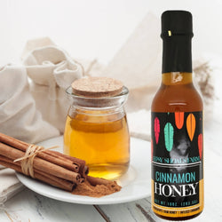 Cinnamon Infused All Natural Raw Honey