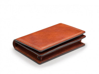 Bosca Dolce 449 Leather Business Card Case W/ID
