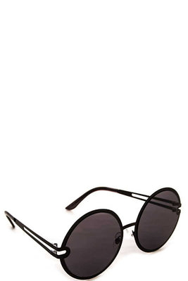 Fashion Round Sleek Sunglasses