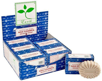 Satya Nag Champa Beauty Soap -75 Gram Pack (12 Per Box)