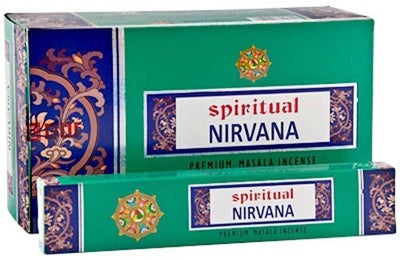 Spiritual Nirvana Incense - 15 Gram Pack (12 Packs Per Box)