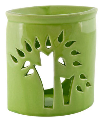 "*Tree of Life Ceremic Oil Burner - 5""H"