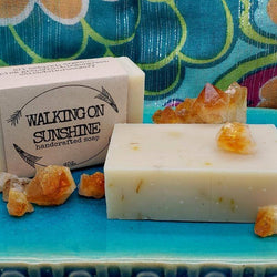 Walking on Sunshine 4OZ | Handcrafted Cold Pressed Soap
