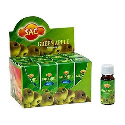 Sac Green Apple Aroma Oil - 10ml (1/3 Fl. Oz), Set of 3