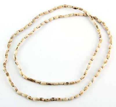 "4mm Tulasiwood Oval Neck Beads - 32""L"