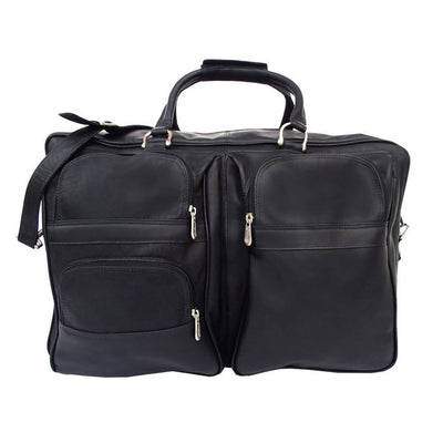 "Piel 8829 20"" Leather Carry-on Duffle"