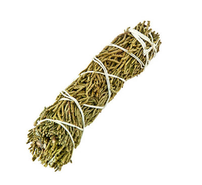 "Juniper Smudge Stick - 4""L - Sold as a Set of 6 Smudges"