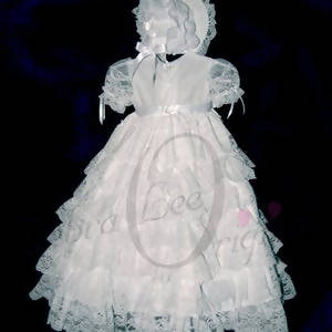 Lacey Christening Gown