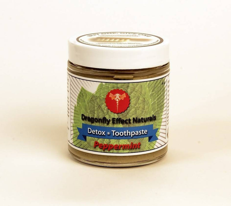 Detox Toothpaste - Peppermint 4 oz
