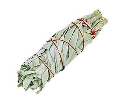 "California White Sage Smudge Stick - 6""L - Sold as a Set of 6"