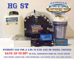 HG S7 HHO (water fuel) Cell Kit