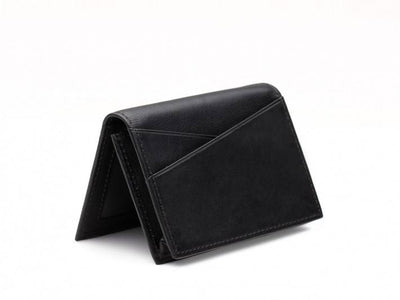Bosca 449-100 Nappa Leather Men's Gusseted Card Case