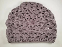 Skulls Slouchy Hat - Solid Color - Choose Your Color