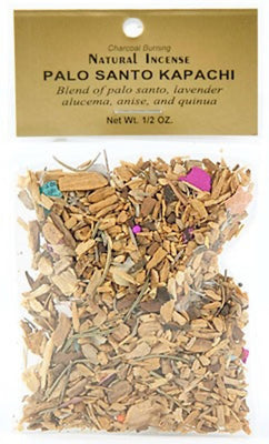 Palo Santo Kapachi Incense - 1/2 Oz. Pack - Sold as a Set of 6 Packs