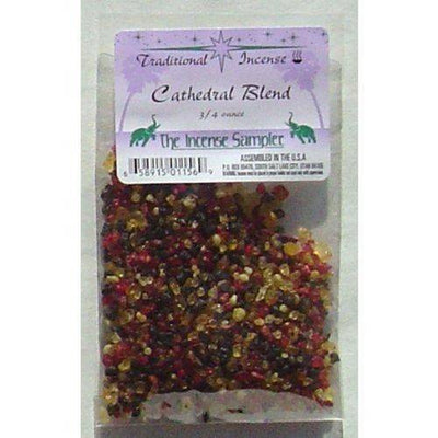 "Cathedral Blend Incense Packaged in 3""x5"" Bags"