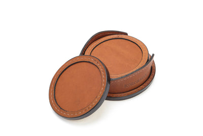 Korchmar Frost R1073 Leather Coasters