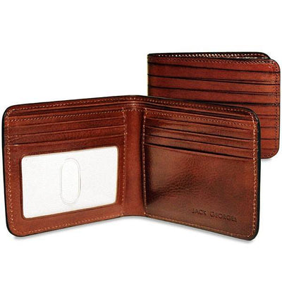 Jack Georges Monserrate MS701 Leather Billfold Wallet