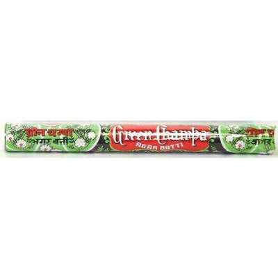 Incense Green Champa Traditional Packaging - 30 Gram Tube