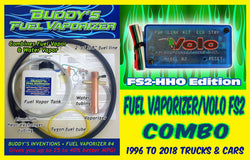 Buddy's Fuel Vaporizer Combo with Volo FS2