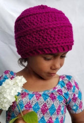 Child Size Seed Stitch Beanie - Color Choices