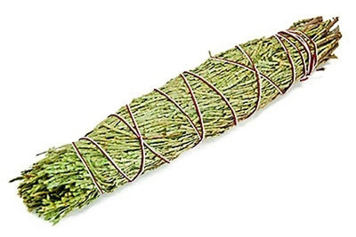"Cedar Smudge Stick - 8""L (Large) - Sold as a Set of 4 Smudges"
