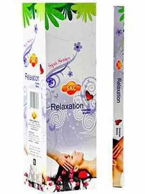 Sac Relaxation Incense - 8 Sticks Pack (25 Packs Per Box)