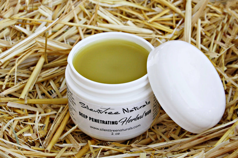Deep Penetrating Herbal Rub-Natural Health, All-Natural, Muscle Tension, Aches & Pains Salve, Paraben-free, Free Shipping