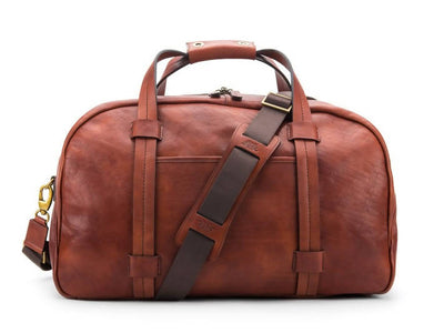 Bosca Washed 6005-158 Vintage Leather Duffel Bag