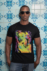 Men's Colorful Marilyn Monroe Art Tee