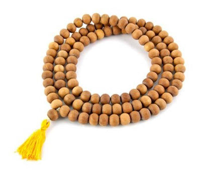 Sandalwood Prayer Mala - 8 mm