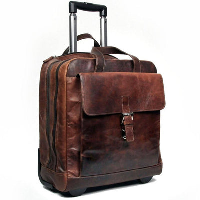 Jack Georges Voyager 7844 Buffalo Rolling Laptop Briefcase