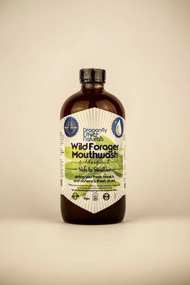Wild Forager Mouthwash - Peppermint 16 oz